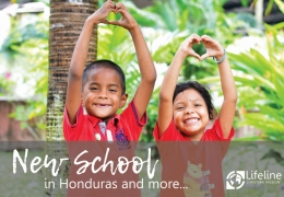 New School in Honduras and More...