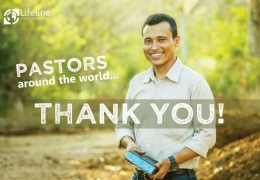 Thank you to pastors around the world!